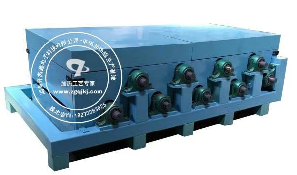 覆膜铁电磁加热辊 电磁感应加热 机组